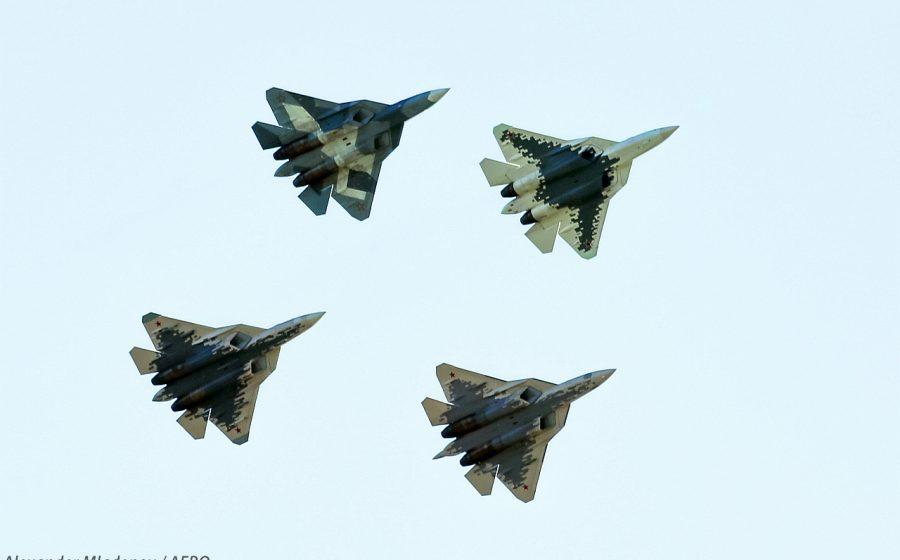 Макс 2019 4 х Су-57