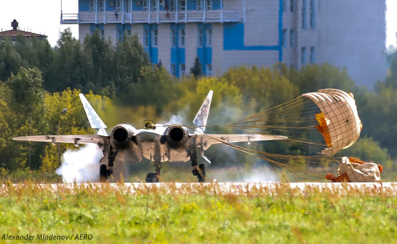 Су-57 кацане на МАКС 2019