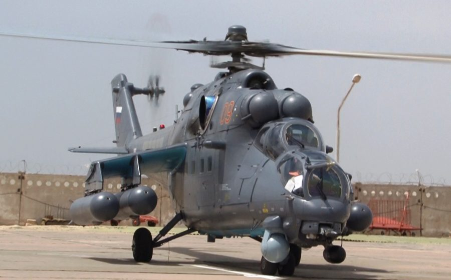 Ми-35М Казахстан